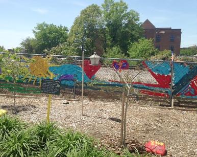 The IRC Peace Garden.
